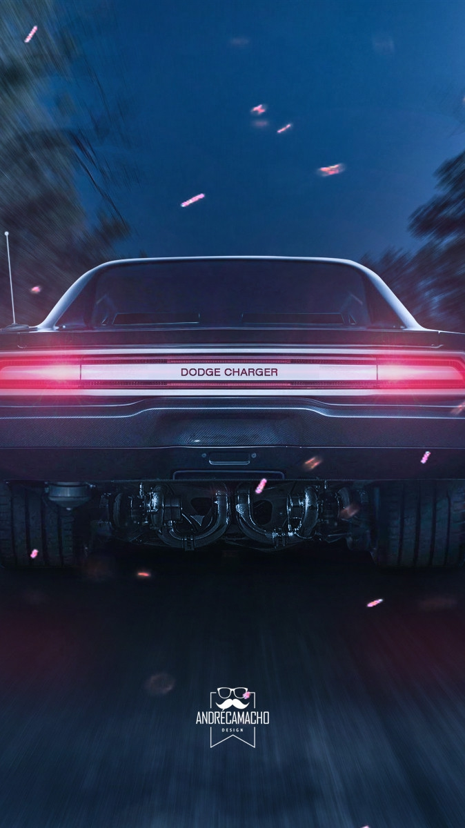 Dodge Charger 1970 iPhone Wallpaper