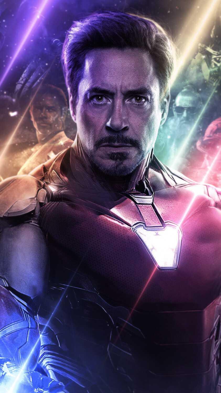 Endgame Iron Man Closeup iPhone Wallpaper