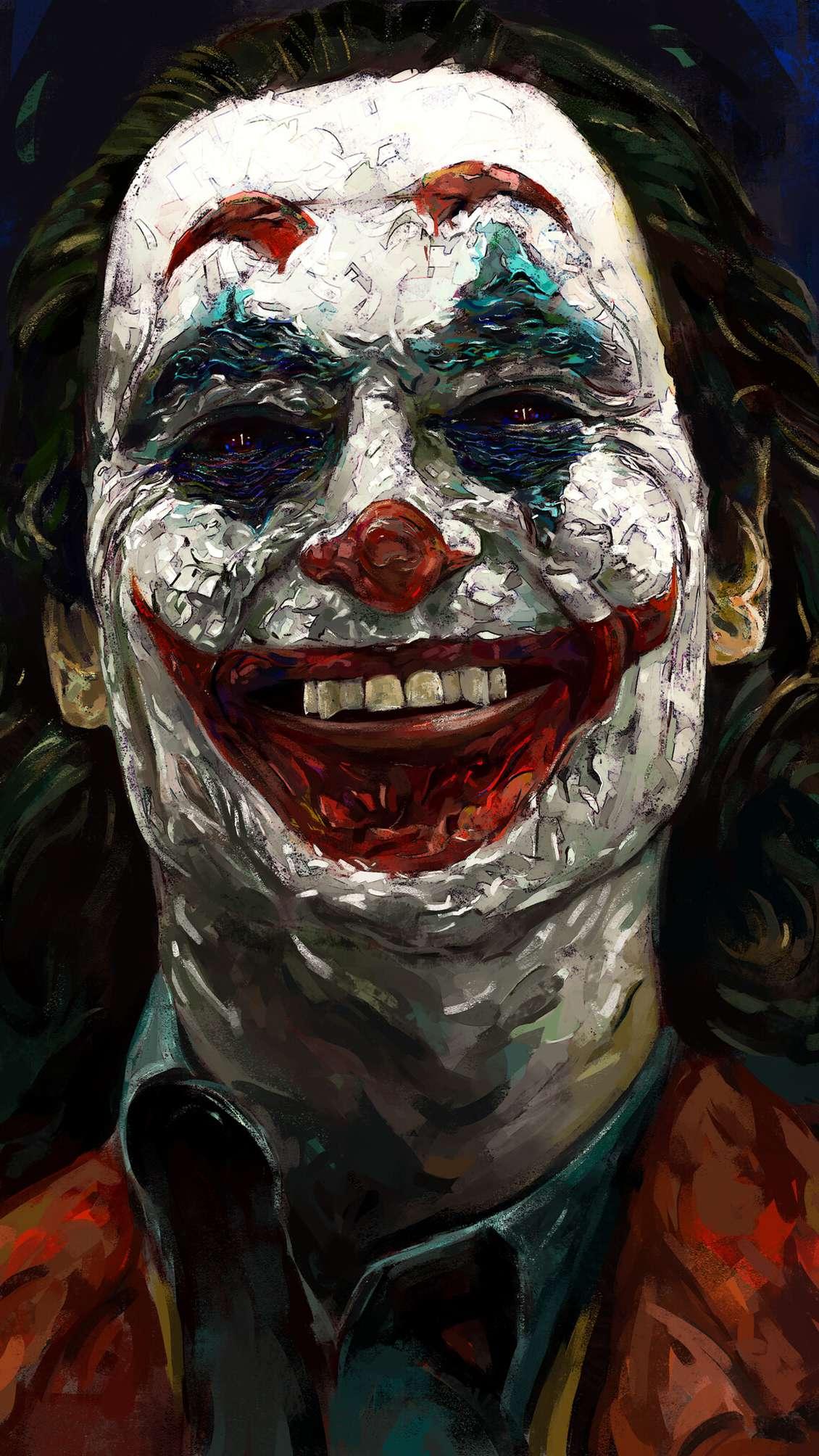 Happy Joker iPhone Wallpaper
