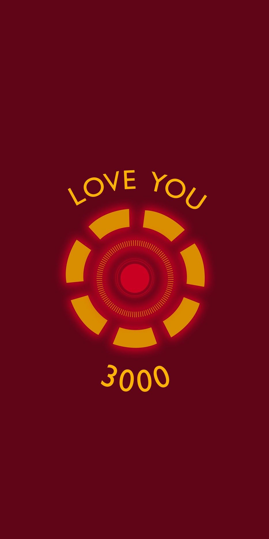 Iron Man Love You 3000 iPhone Wallpaper