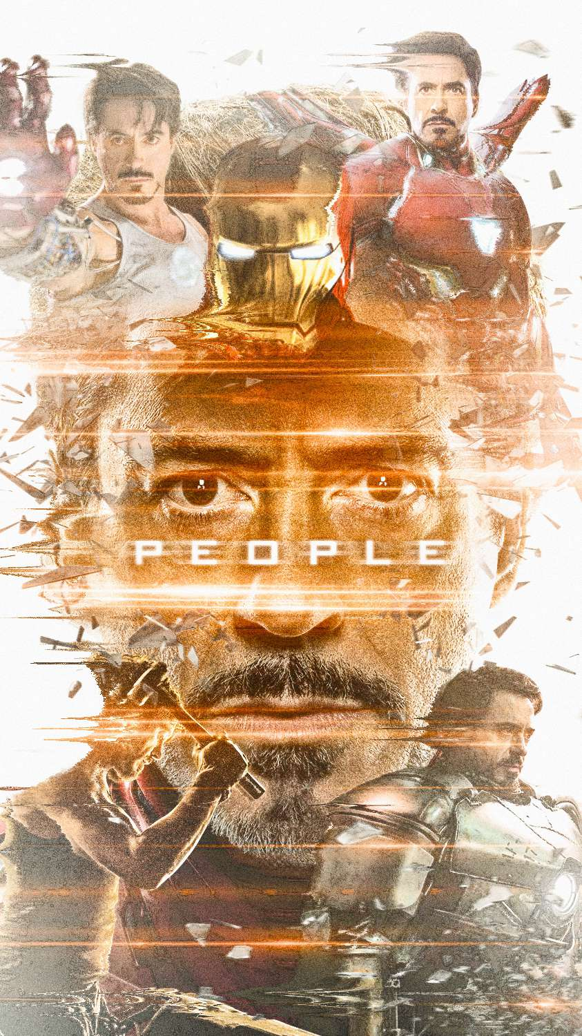 Iron Man Peoples Hero iPhone Wallpaper
