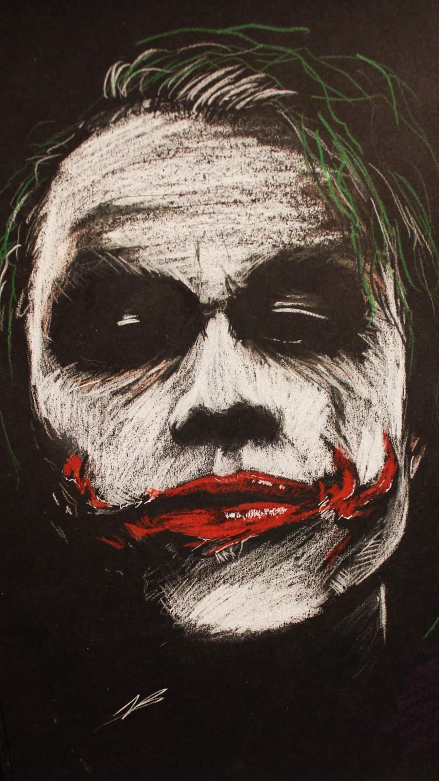 Joker Madness iPhone Wallpaper
