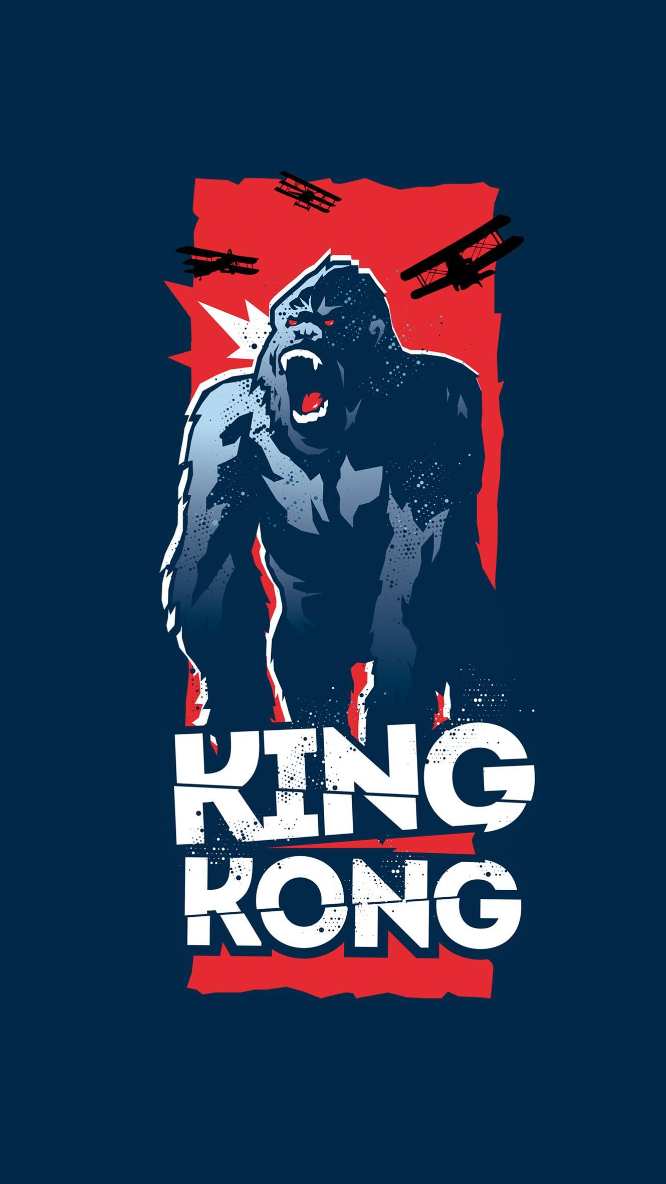 King Kong iPhone Wallpaper