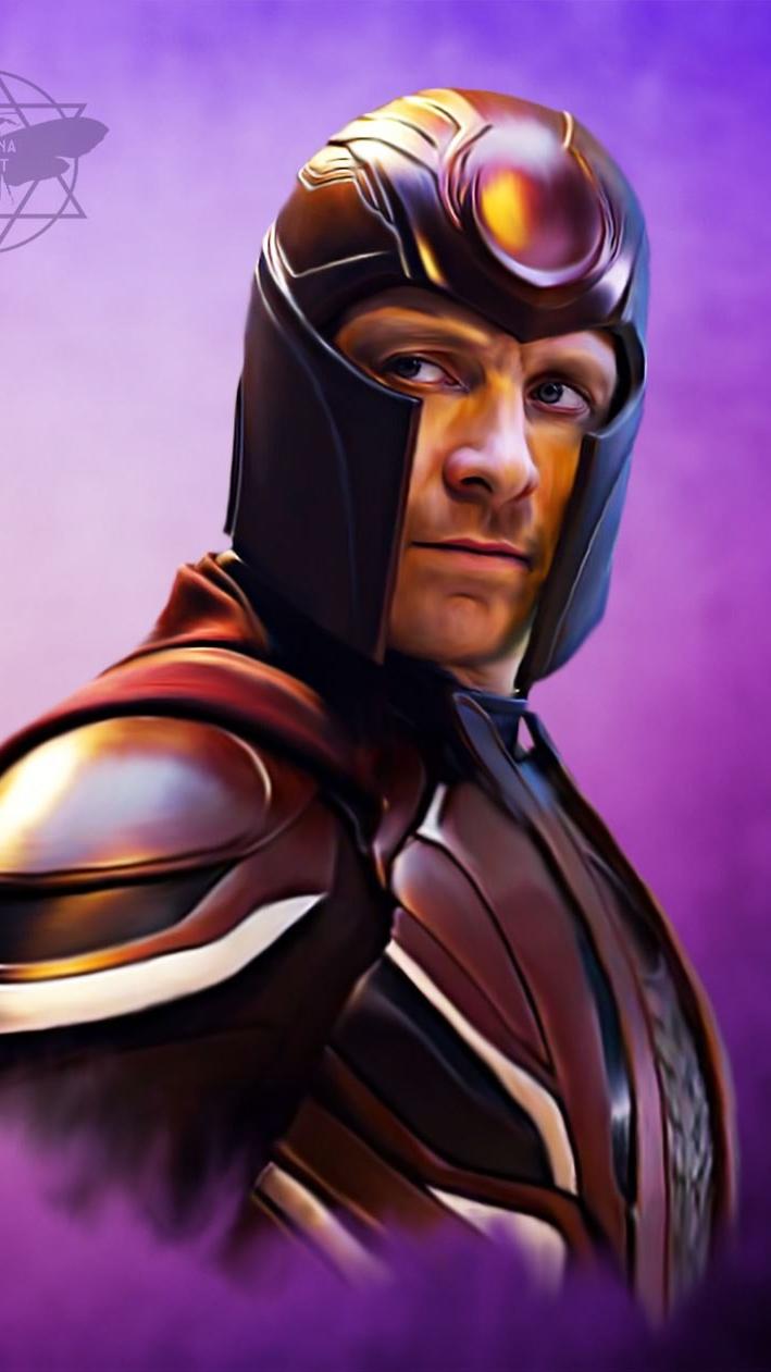 Magneto Erik Lehnsherr iPhone Wallpaper