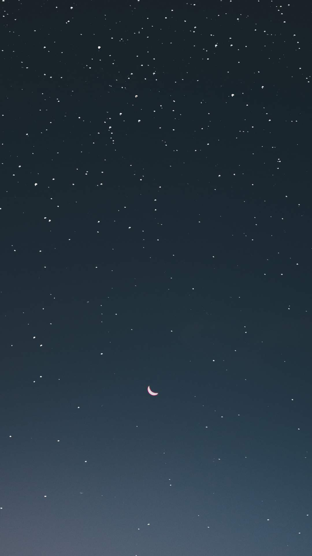 Moon and Stars iPhone Wallpaper