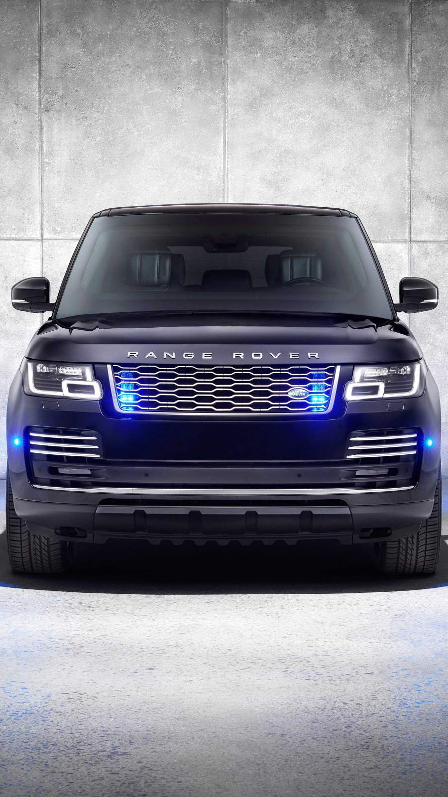 New Range Rover iPhone Wallpaper