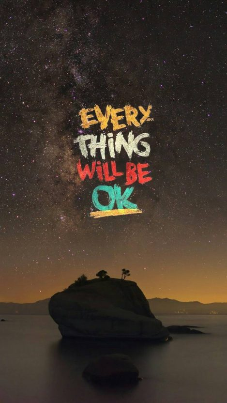 Quote Everything Will Be Ok Iphone Wallpaper Iphone Wallpapers