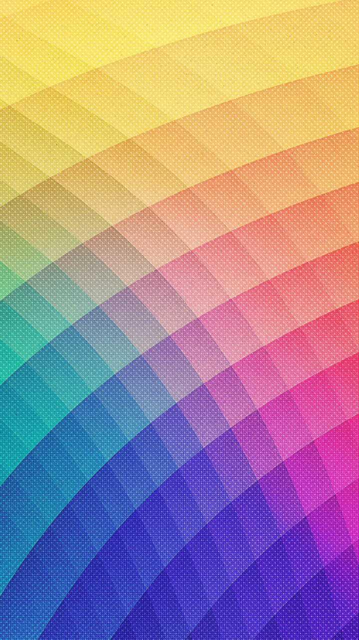 Rainbow Texture iPhone Wallpaper