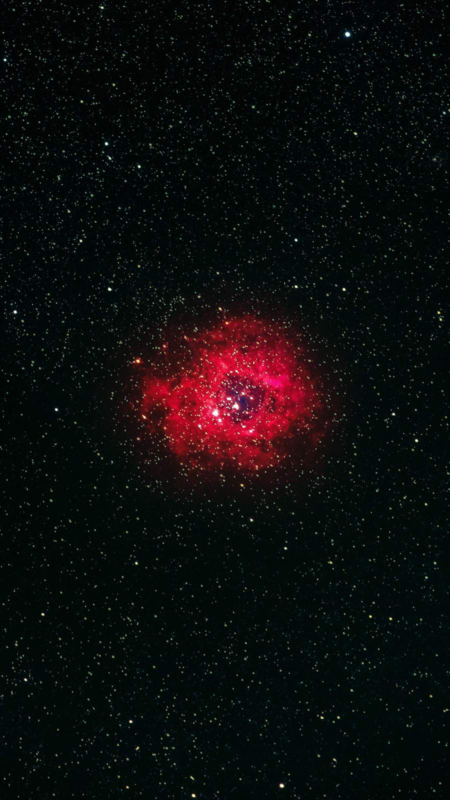 Rosette Nebula iPhone Wallpaper