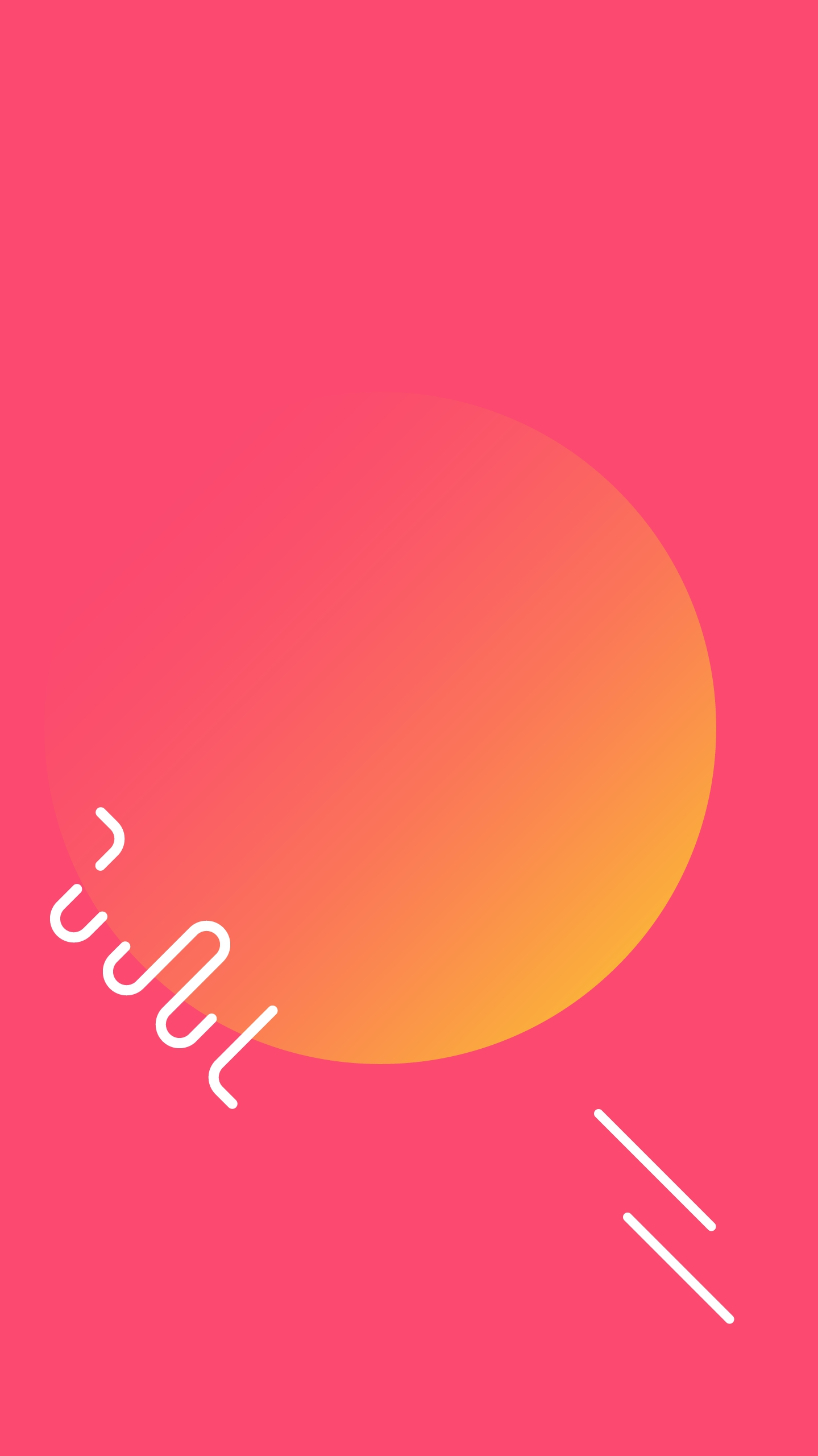 Simple Sun iPhone Wallpaper