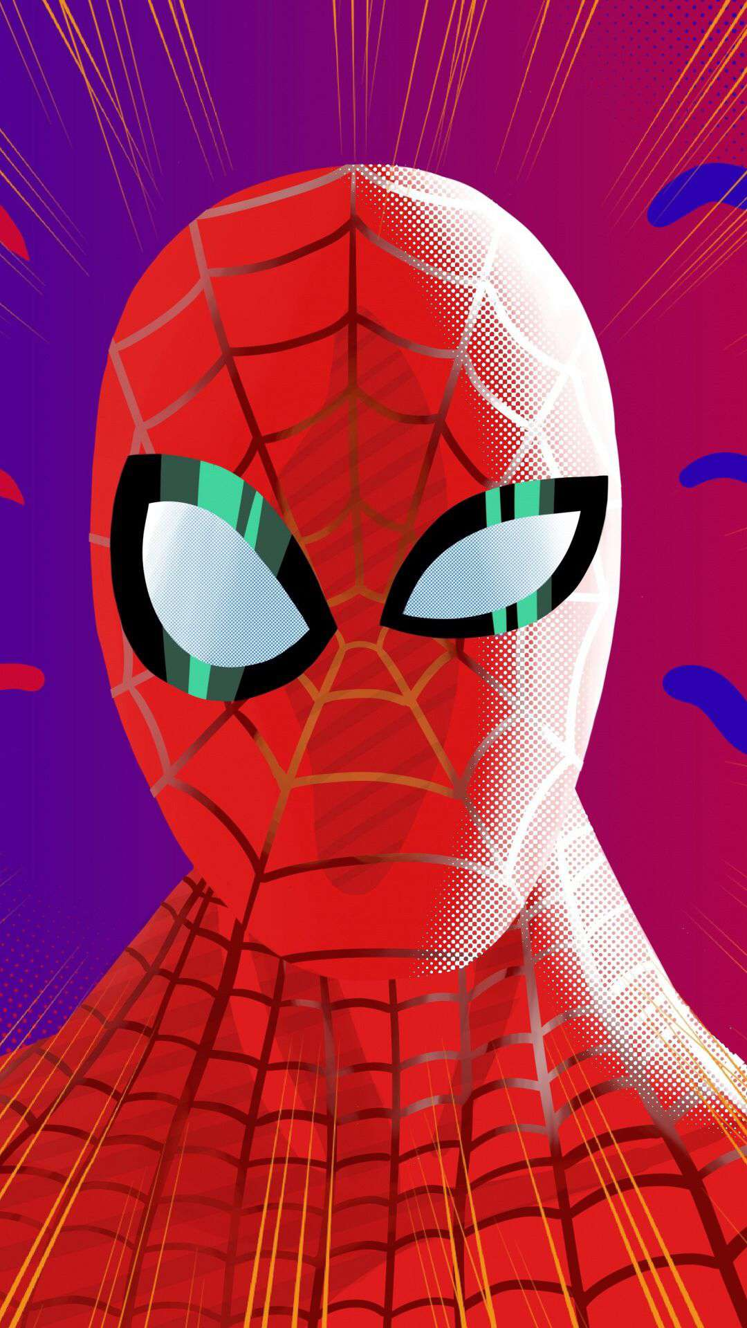 Spider Verse Spider Man iPhone Wallpaper