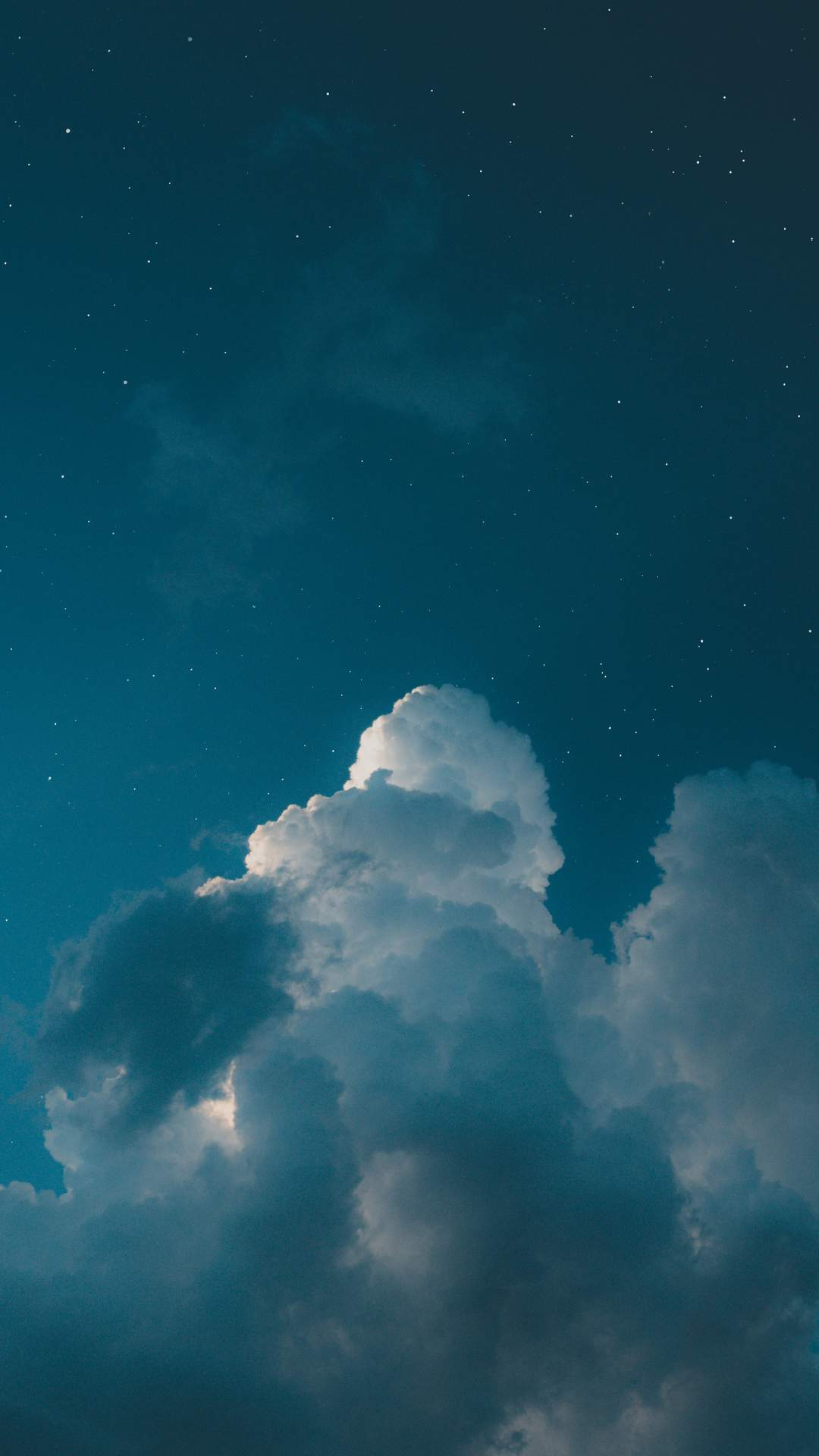 Star Clouds iPhone Wallpaper