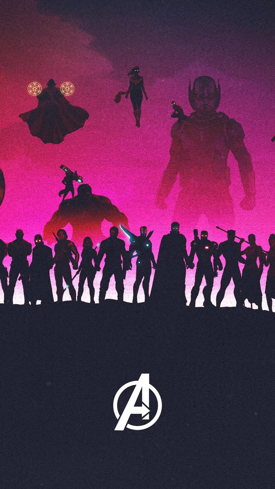 The AVENGERS iPhone Wallpaper