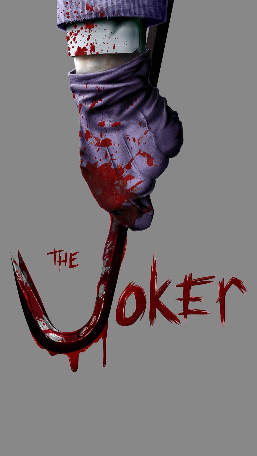 The Joker Blood iPhone Wallpaper