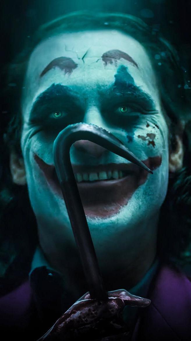 The Killer Joker iPhone Wallpaper