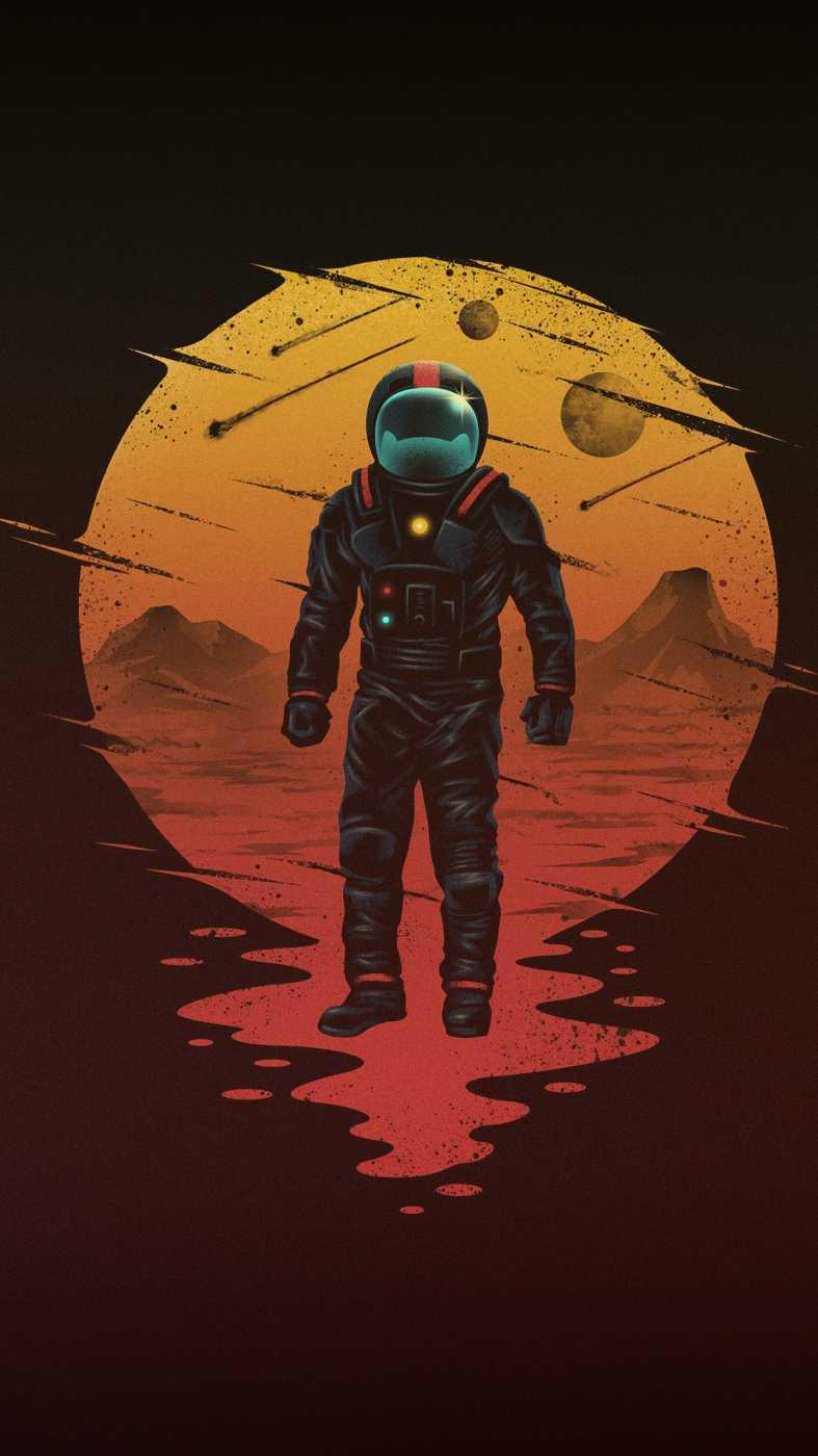 The Mars Explorer iPhone Wallpaper