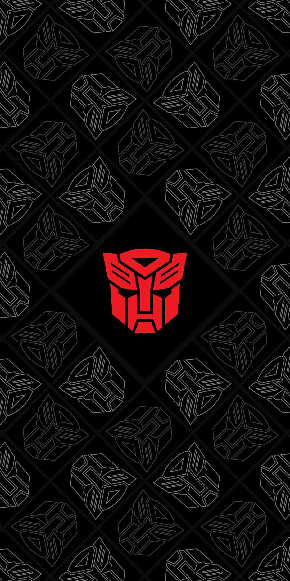 Transformers Autobots Logo iPhone Wallpaper