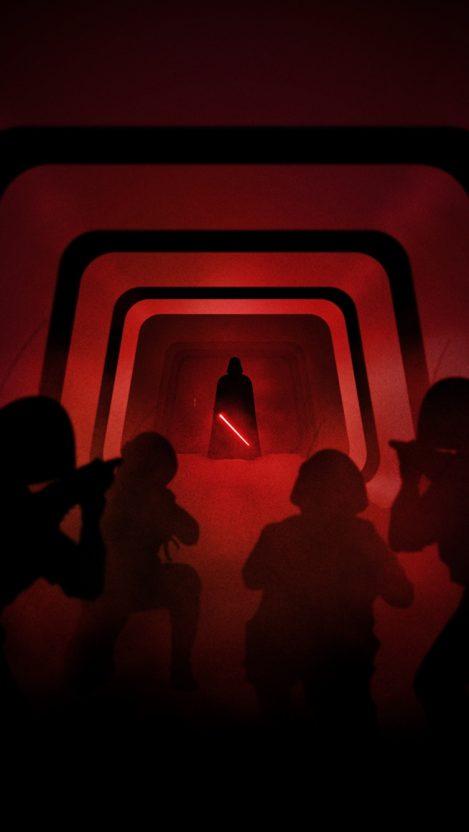 Vader Vs Stormtroopers Iphone Wallpaper Getintopik