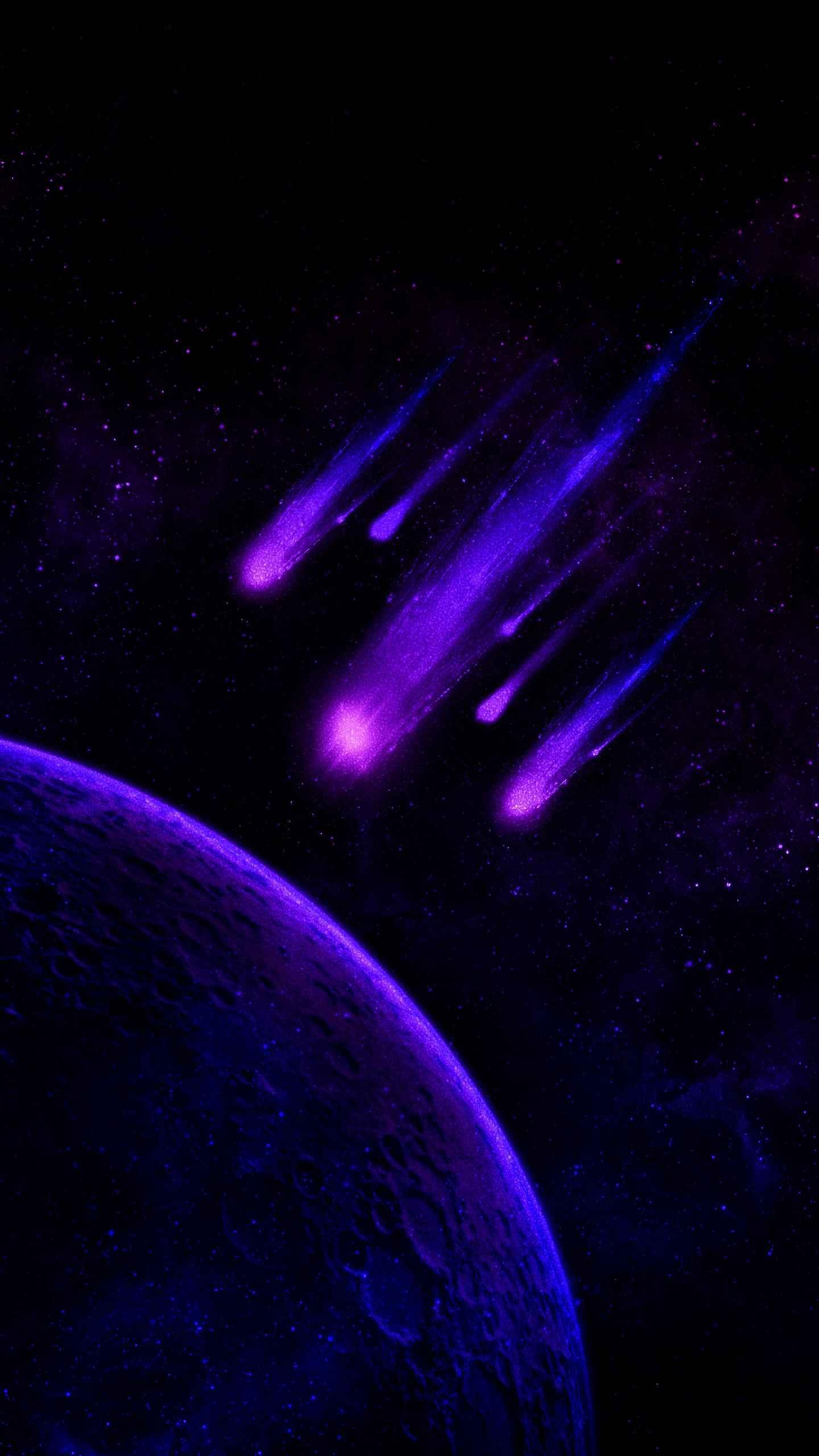 Violet Apocalypse iPhone Wallpaper