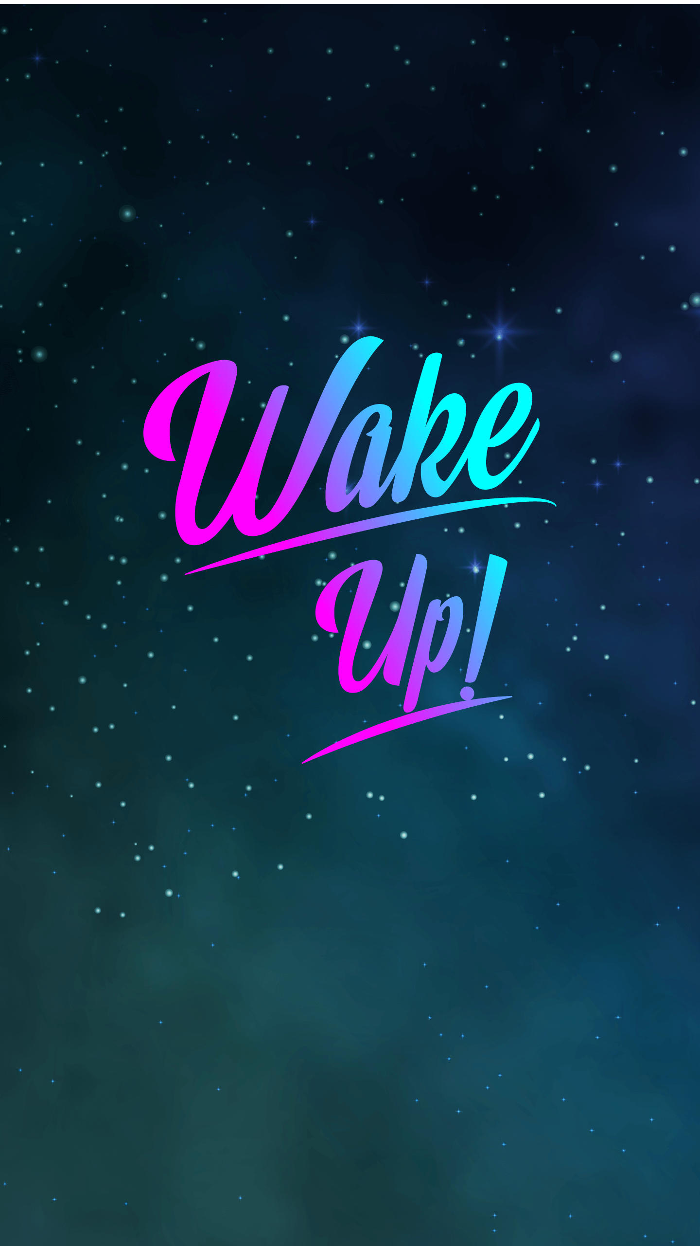 Wake up iPhone Wallpaper
