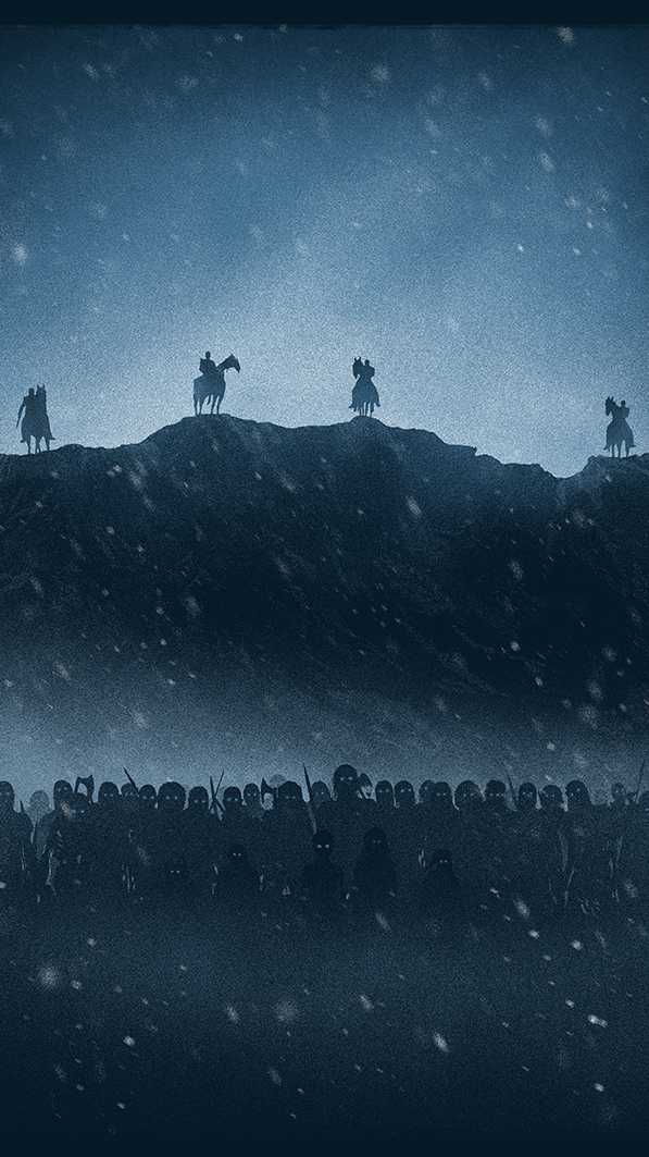 White Walkers iPhone Wallpaper