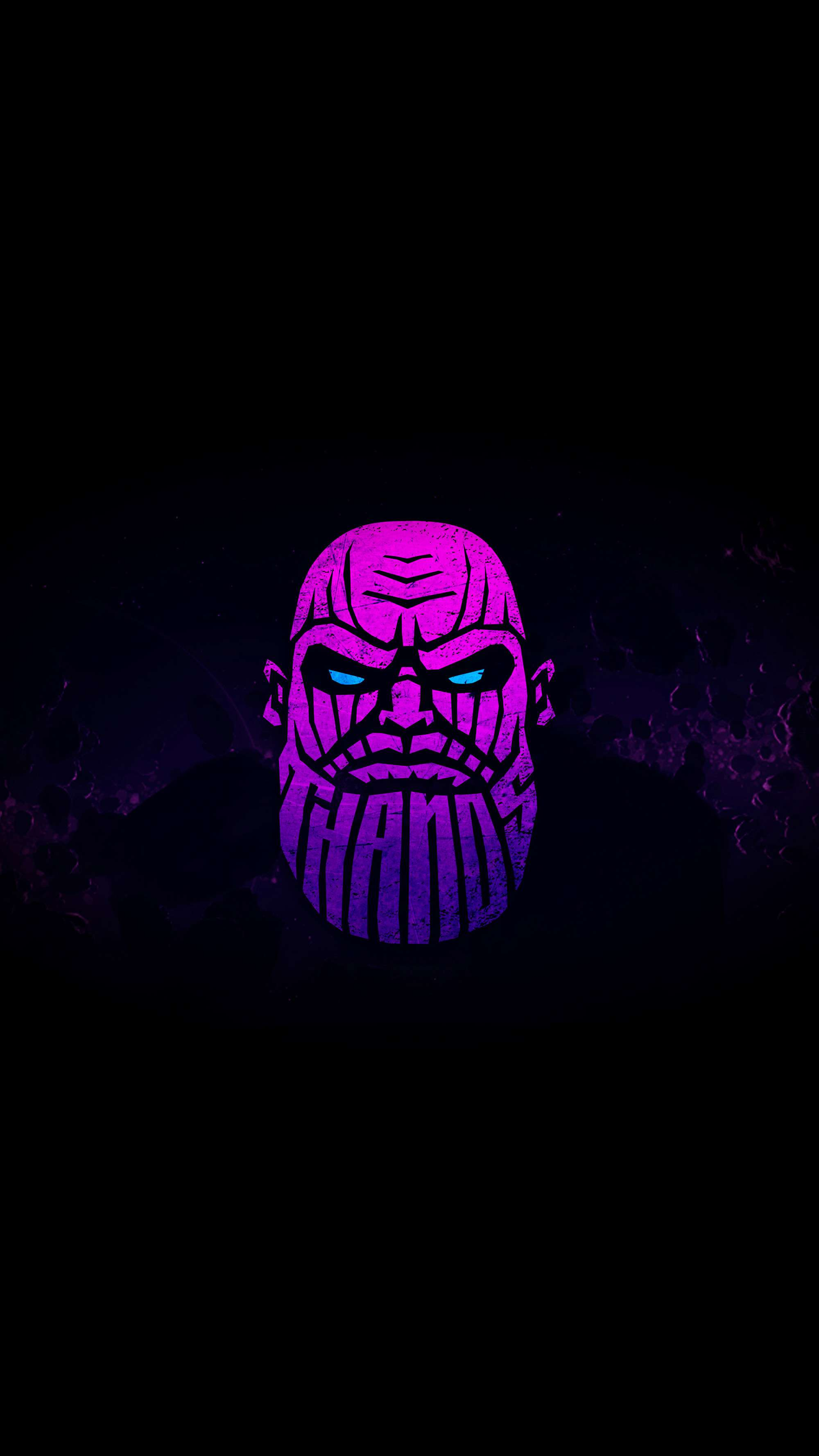 Amoled Thanos iPhone Wallpaper