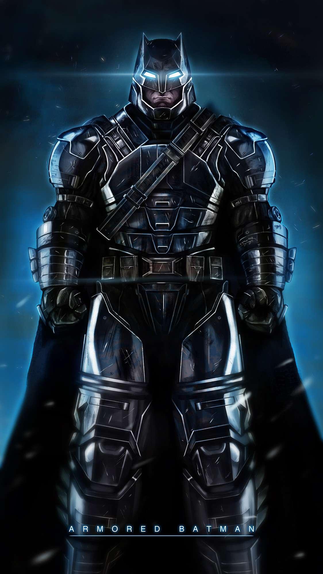 Armored Batman iPhone Wallpaper