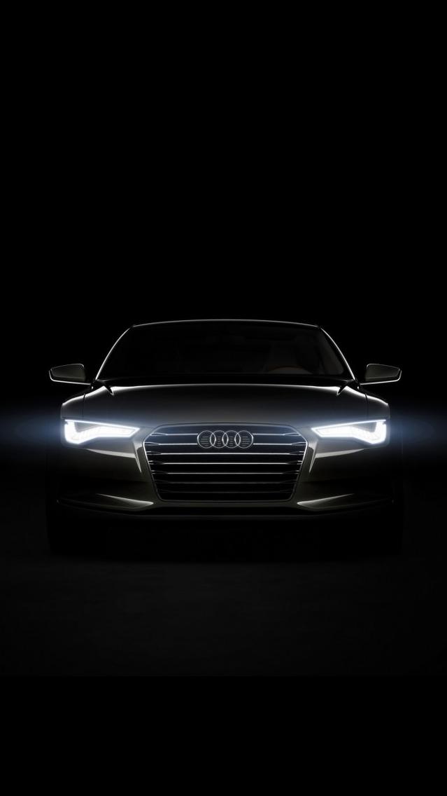 Audi Dark iPhone Wallpaper