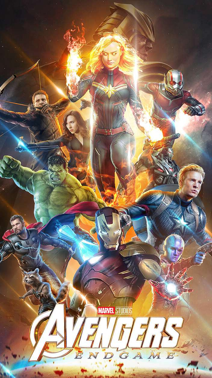 Avengers Endgame Poster iPhone Wallpaper