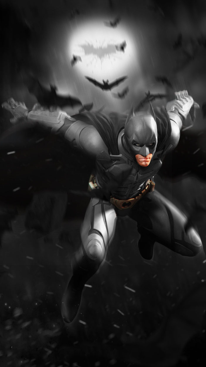 Batman Dark Knight iPhone Wallpaper