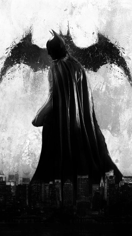 Batman Shadow iPhone Wallpaper