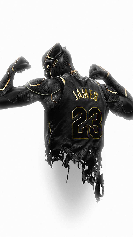 Black Panther NBA iPhone Wallpaper