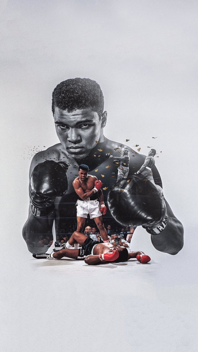 Boxer Ali iPhone Wallpaper