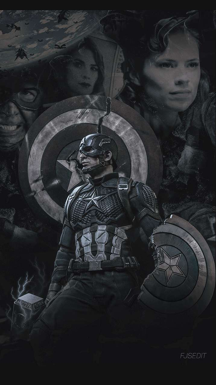 Captain America Love iPhone Wallpaper