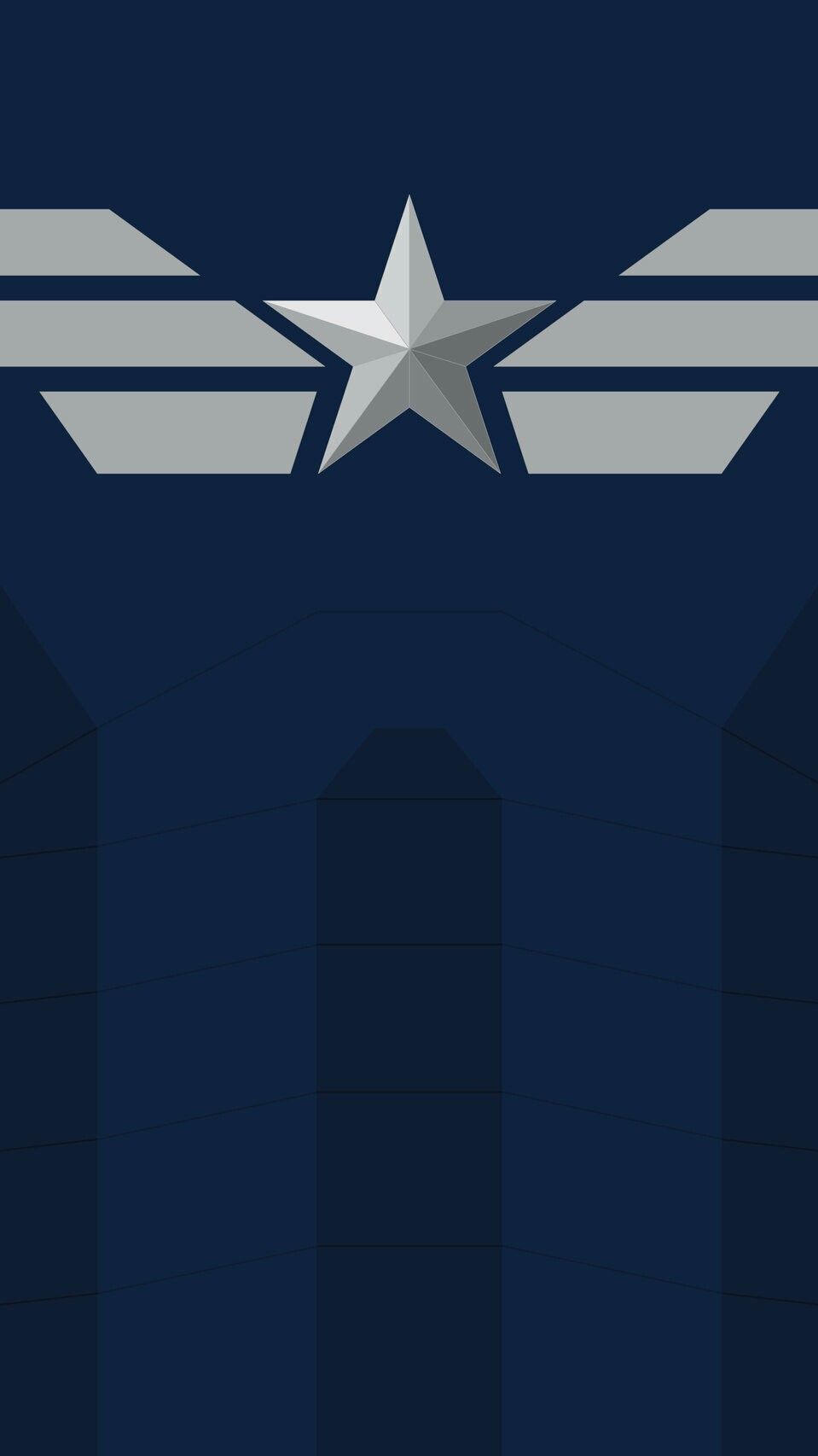 Captain America Symbol iPhone Wallpaper