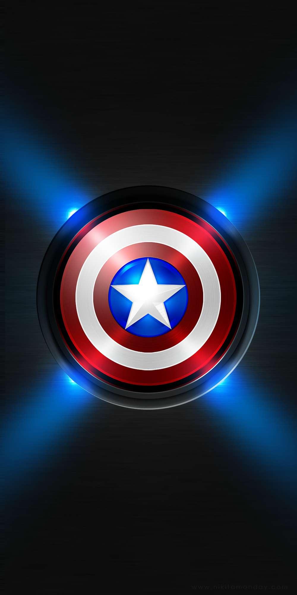 Captain America iPhone Wallpaper