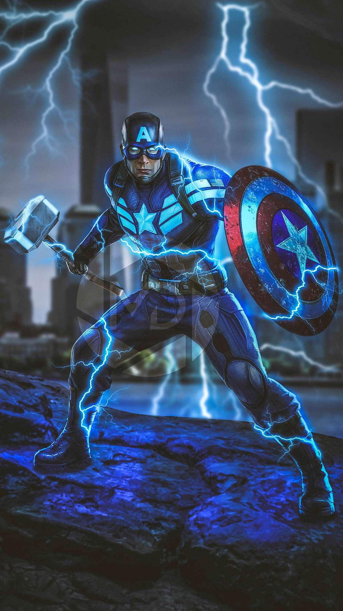 Captain America Wallpaper Hd Endgame