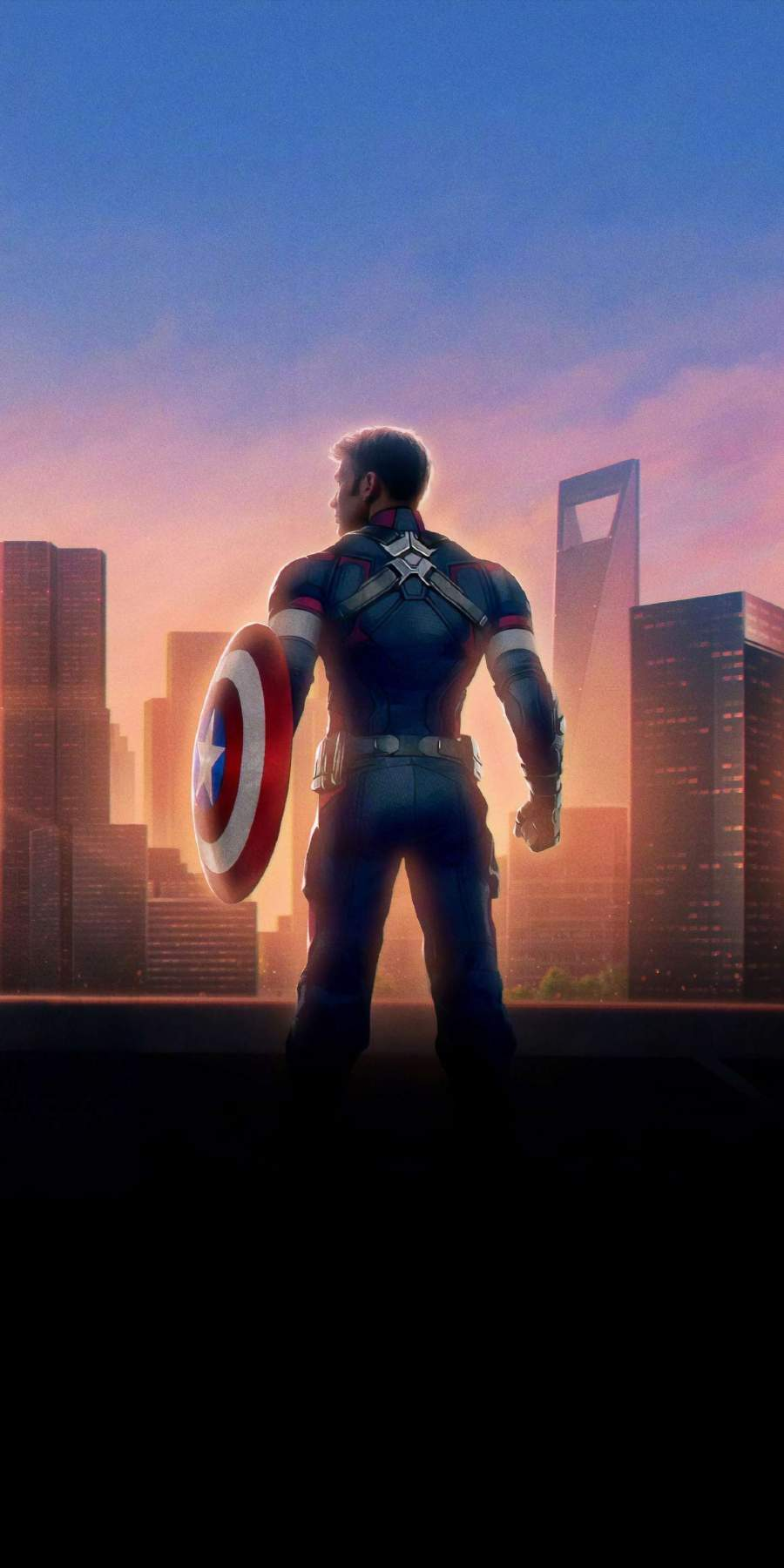 Captain Rogers iPhone Wallpaper
