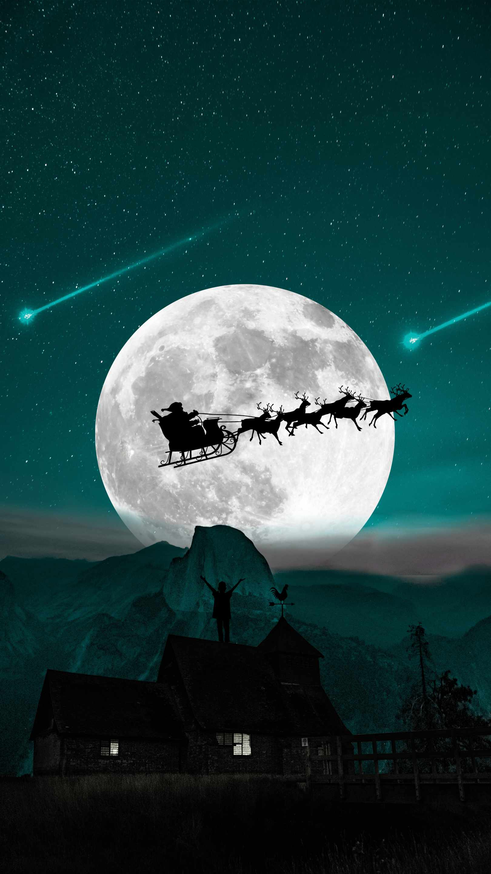 Christmas Dream iPhone Wallpaper