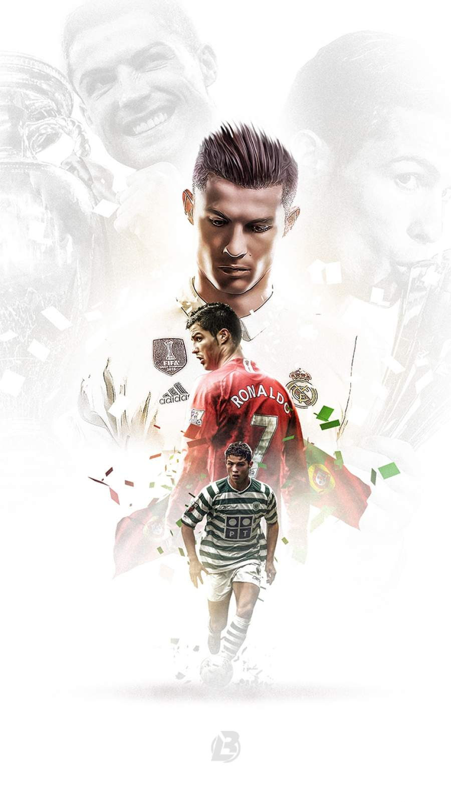 Cristiano Ronaldo Legacy iPhone Wallpaper
