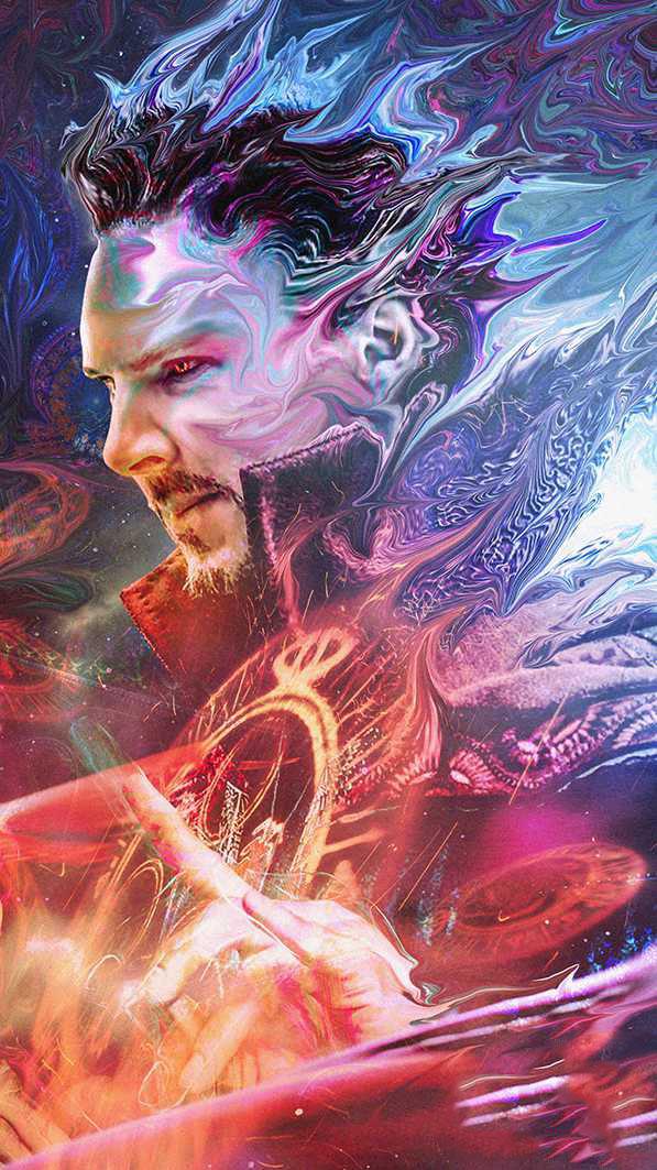 Doctor Strange Fan Art iPhone Wallpaper