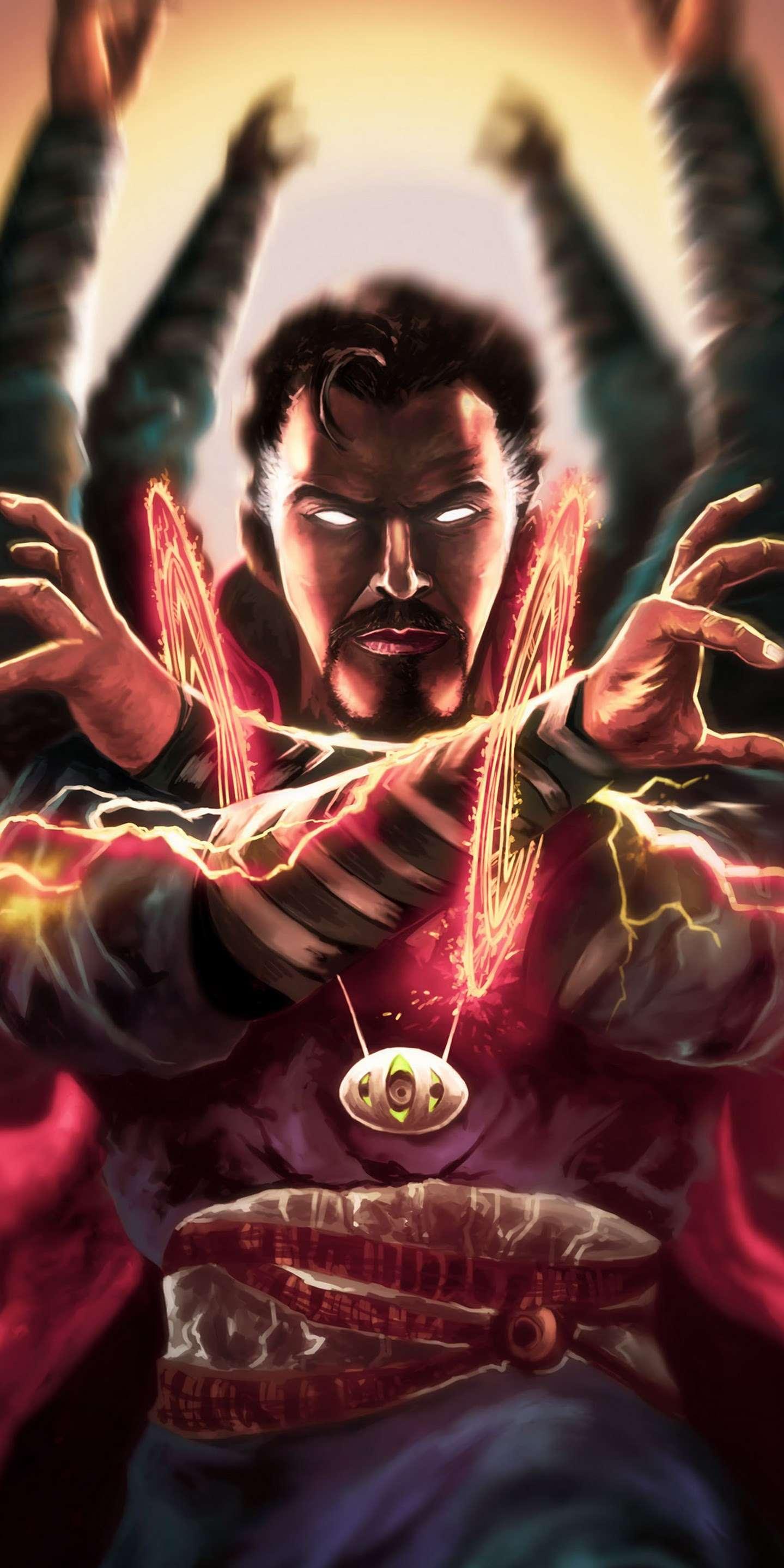 Doctor Strange Magic Art iPhone Wallpaper 1