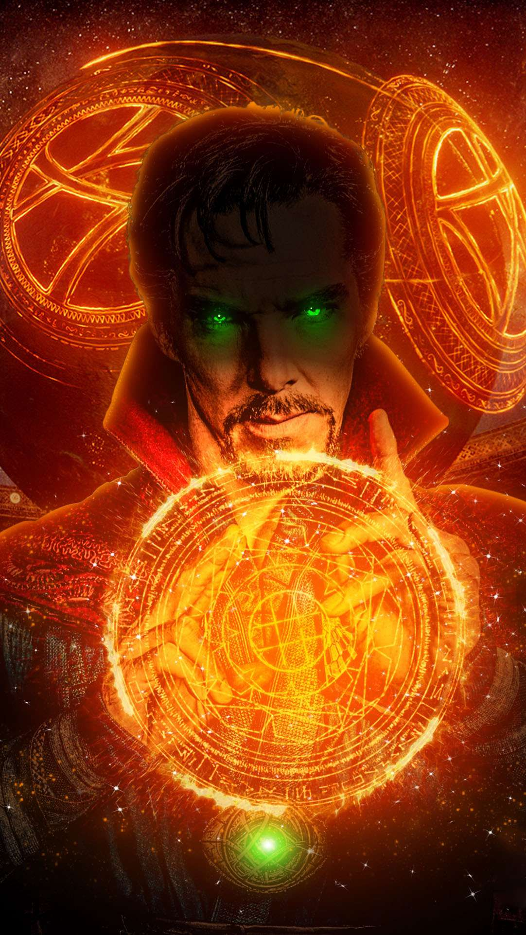 Doctor Strange Magic Art iPhone Wallpaper