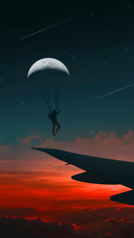 Dream Flight iPhone Wallpaper