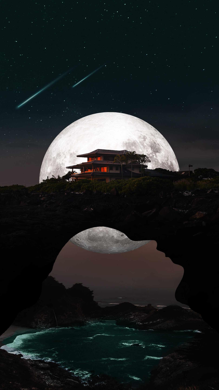 Dream House iPhone Wallpaper