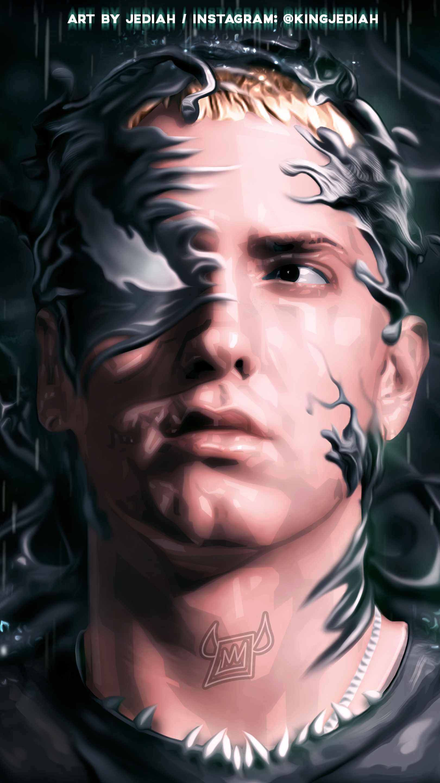 Eminem Venom iPhone Wallpaper