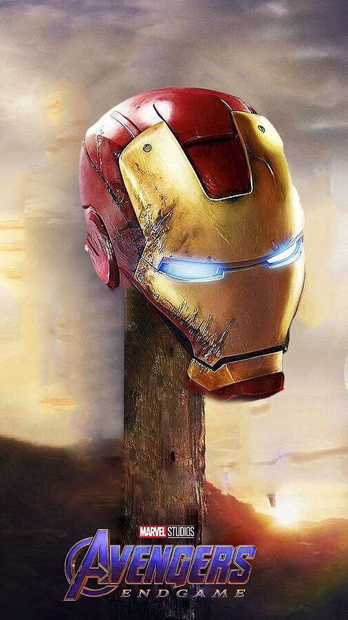 Endgame Iron Man iPhone Wallpaper 1