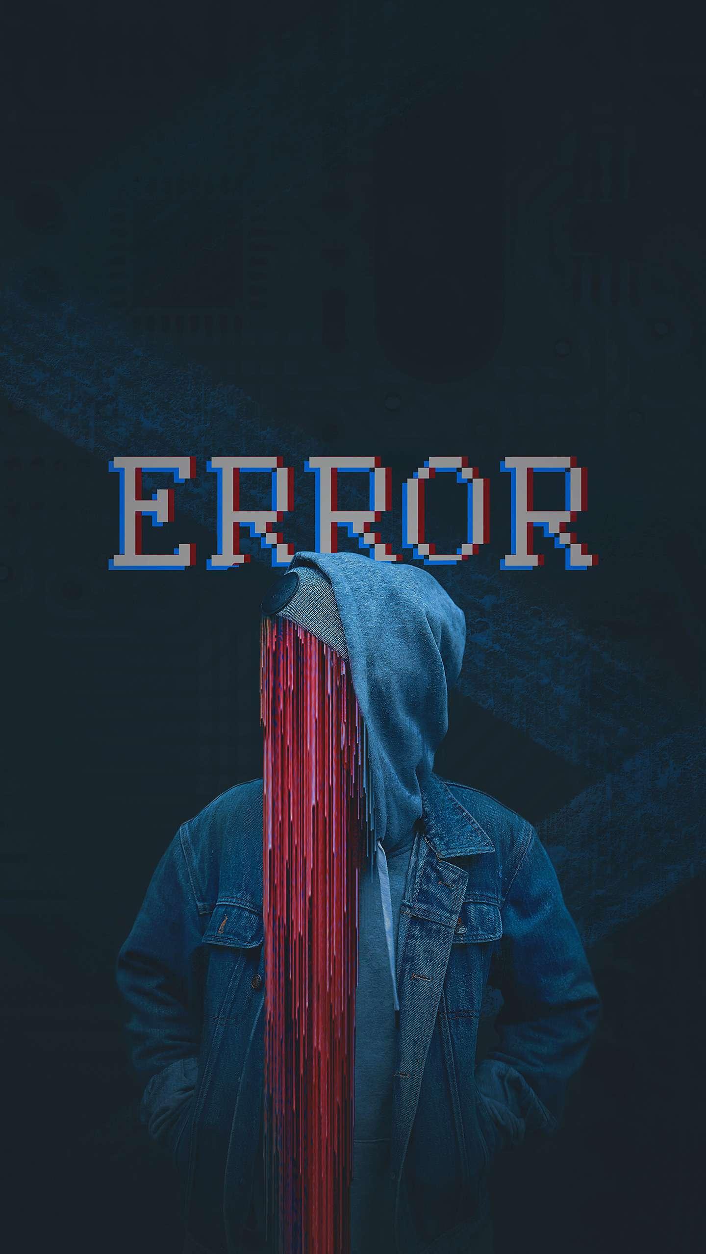 Error iPhone Wallpaper
