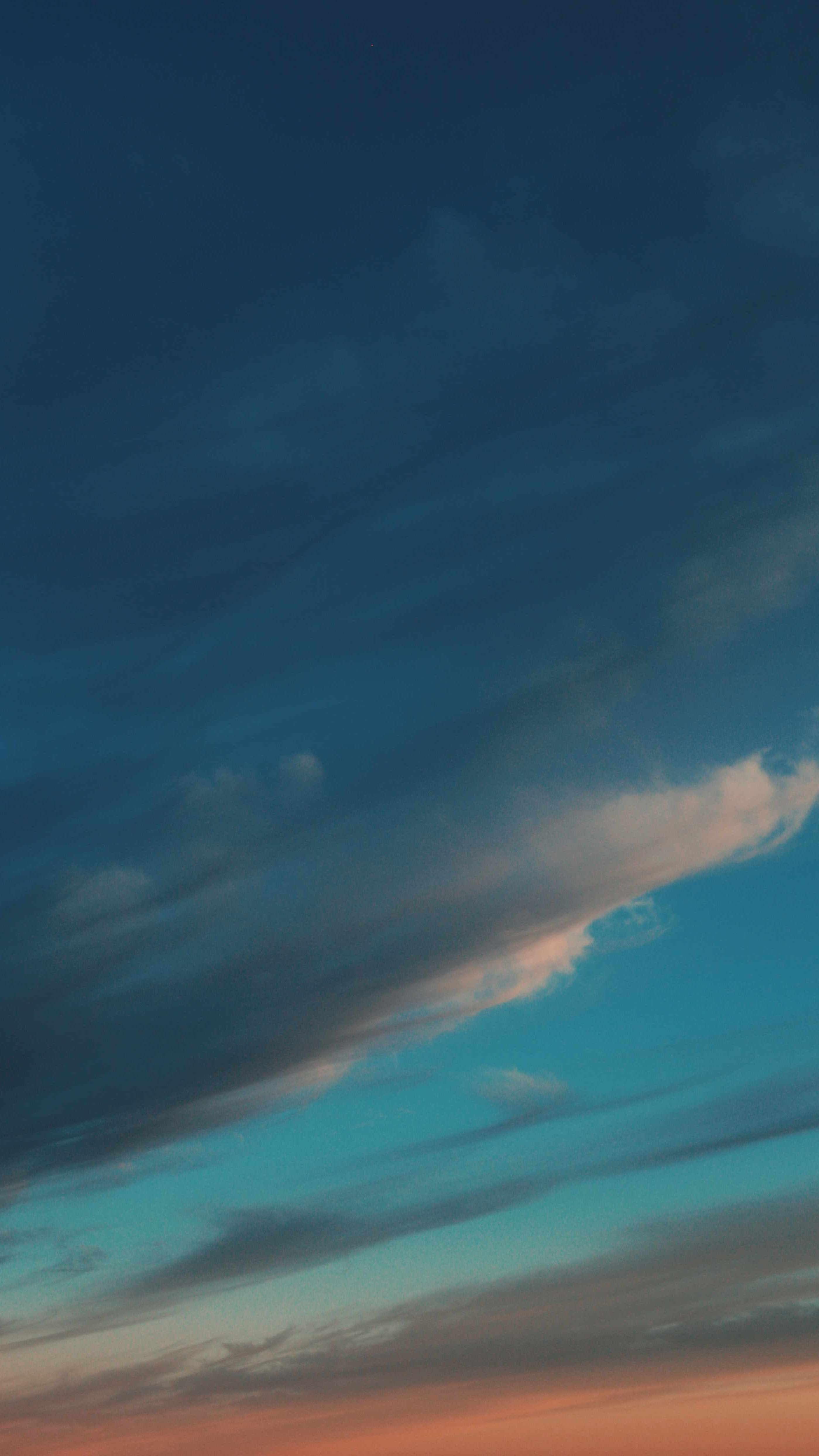 Evening Clouds iPhone Wallpaper