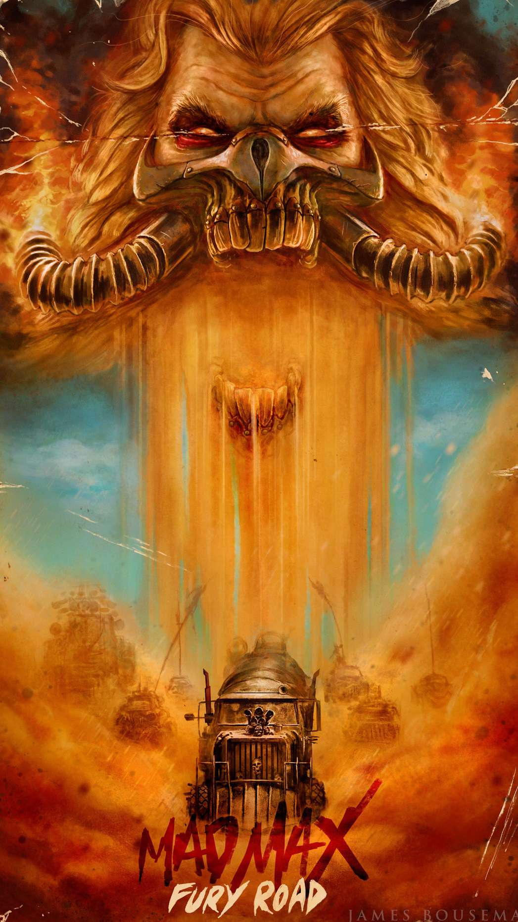 Fury Road iPhone Wallpaper